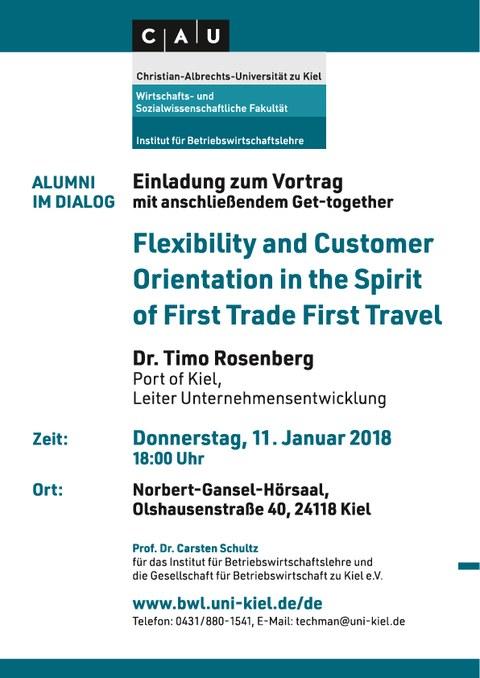 Einladung Vortrag