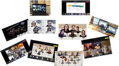 Die Studierenden-Teams und Impressionen der Digital Challenge Woche