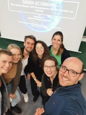 Referenten der Green Economy im Rahmen der BWL