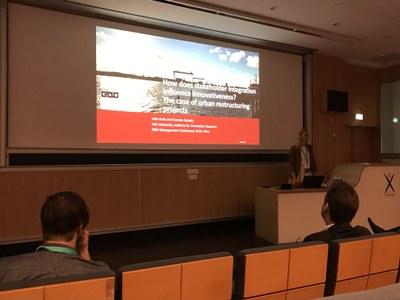 Julia Kroh @ R&D Management conference