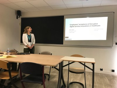 Marie Lüngen @ R&D Management conference